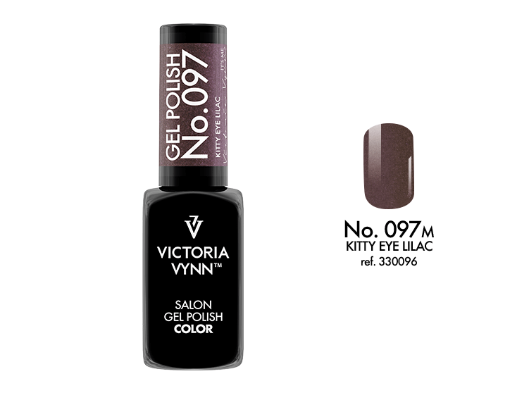 VICTORIA VYNN Gel Polish lakier hybrydowy 097 Kitty Eye Lilac 8ml