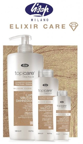 Lisap Top Care Repair ILLUMINANTE szampon 75ml