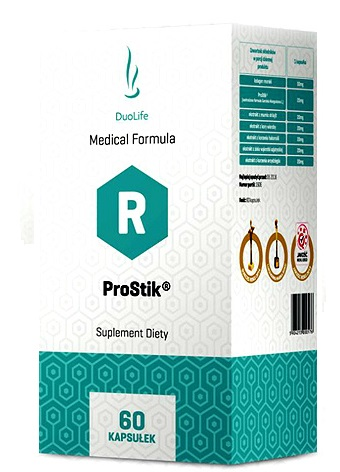DuoLife Medical Formula ProStik - 60 kapsułek