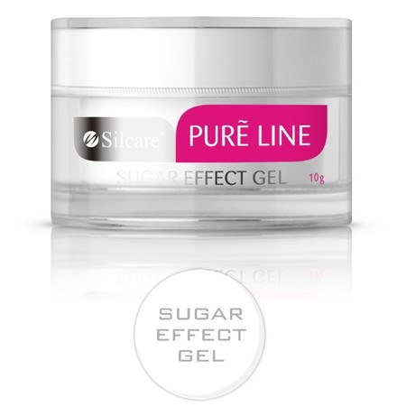 Silcare żel pure line sugar effect 10 g (żel do zdobień)