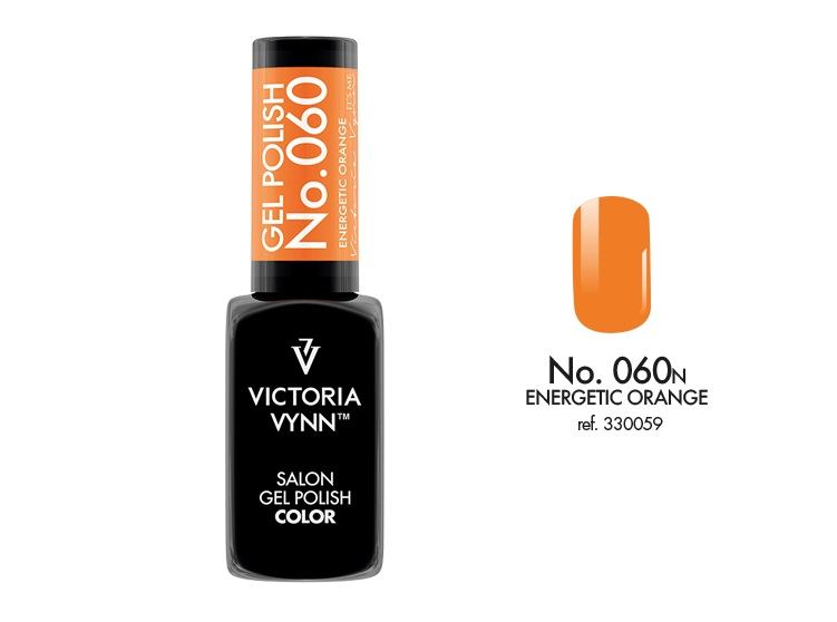 VICTORIA VYNN Gel Polish lakier hybrydowy 060 Energetic Orange 8ml
