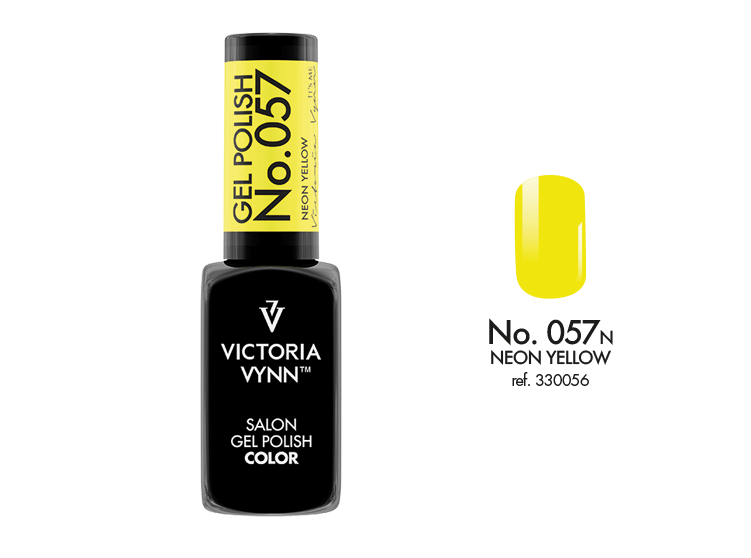 VICTORIA VYNN Gel Polish lakier hybrydowy 057 Neon Yellow 8ml