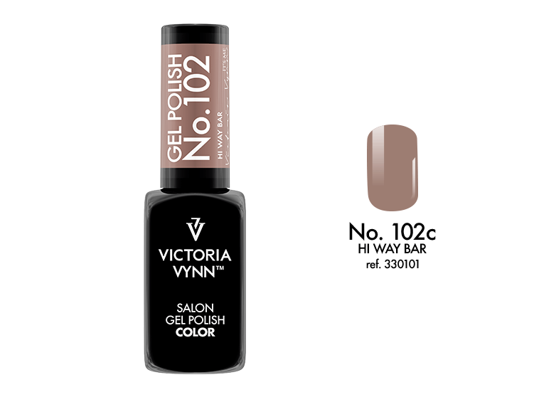 VICTORIA VYNN Gel Polish lakier hybrydowy 102 Hi Way Bar 8ml