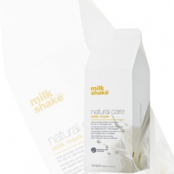 Z.one Milk Shake Pakiet Natural Care mleczna maska 12x15g + aktywator 1000ml