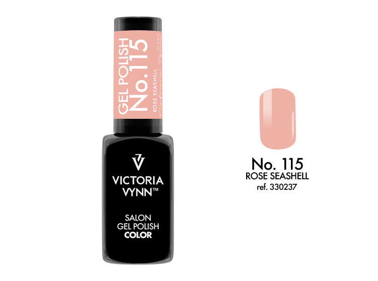 VICTORIA VYNN Gel Polish lakier hybrydowy 115 Rose Seashell 8ml