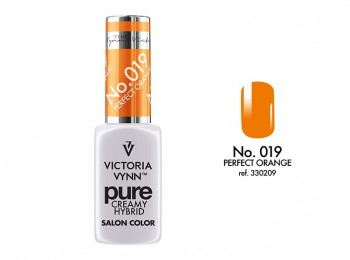 Victoria Vynn PURE CREAMY HYBRID lakier hybrydowy 019 Perfect Orange 8ml