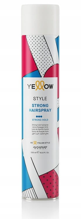 Yellow Style Strong Hairspray mocny lakier do włosów 500ml