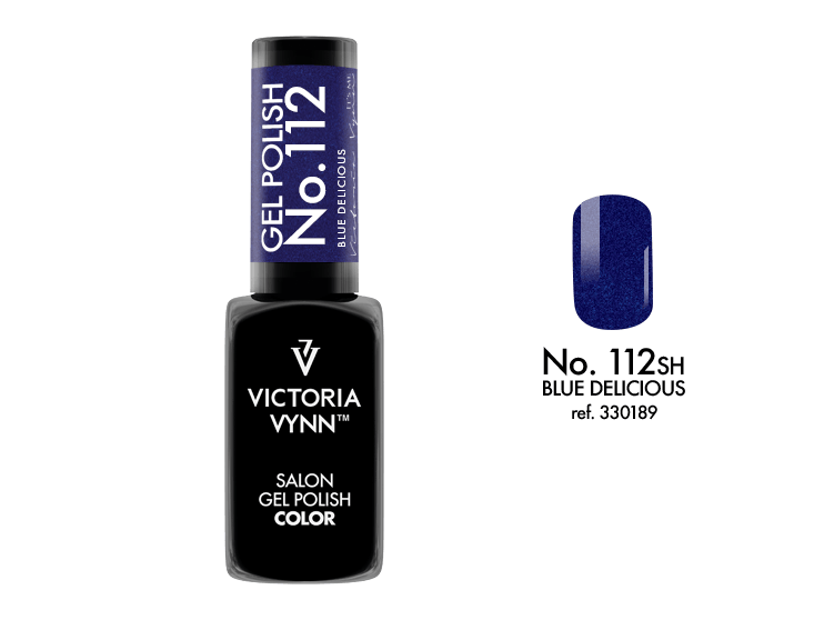 VICTORIA VYNN Gel Polish lakier hybrydowy 112 Blue Delicious 8ml