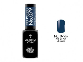 VICTORIA VYNN Gel Polish lakier hybrydowy 079 In The Navy 8ml