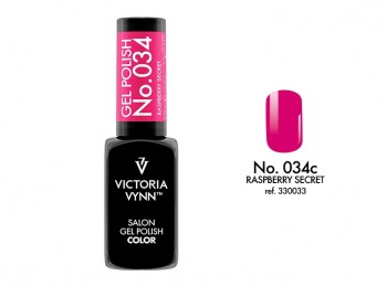 VICTORIA VYNN Gel Polish lakier hybrydowy 034 Raspberry Secret 8ml