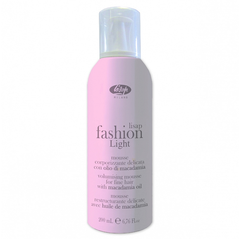LISAP Fashion Light Volumizing Mousse pianka do włosów 200ml