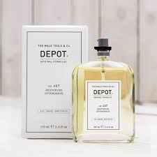 DEPOT NO.407 RESTORING AFTERSHAVE odświeżający lotion po goleniu 100ml