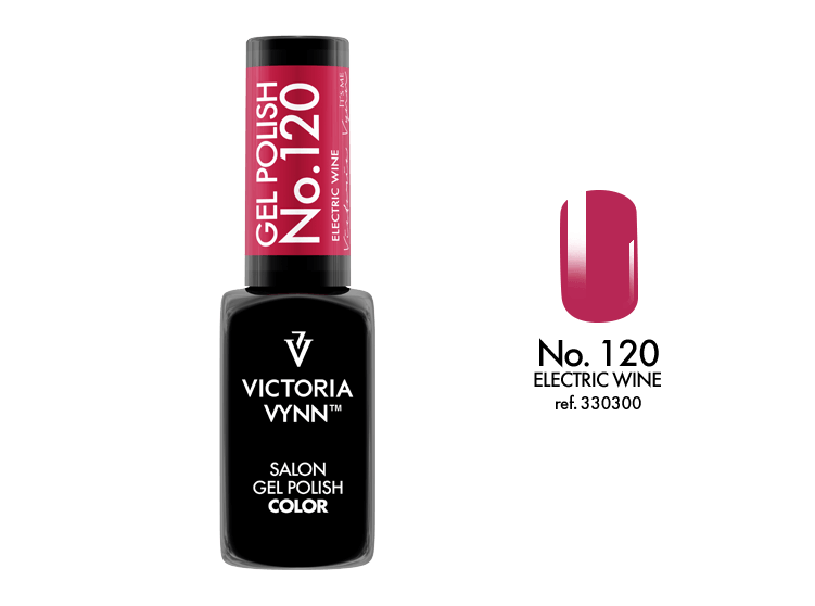 VICTORIA VYNN Gel Polish lakier hybrydowy 120 Electric Wine 8ml