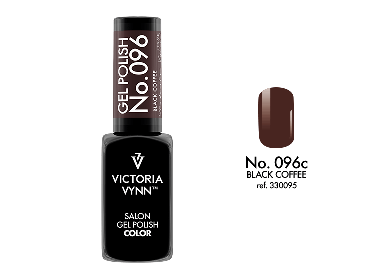VICTORIA VYNN Gel Polish lakier hybrydowy 096 Black Coffee 8ml