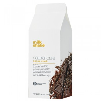 Z.one Milk Shake natural care jogurtowa maska w proszku kakaowa 12x15g