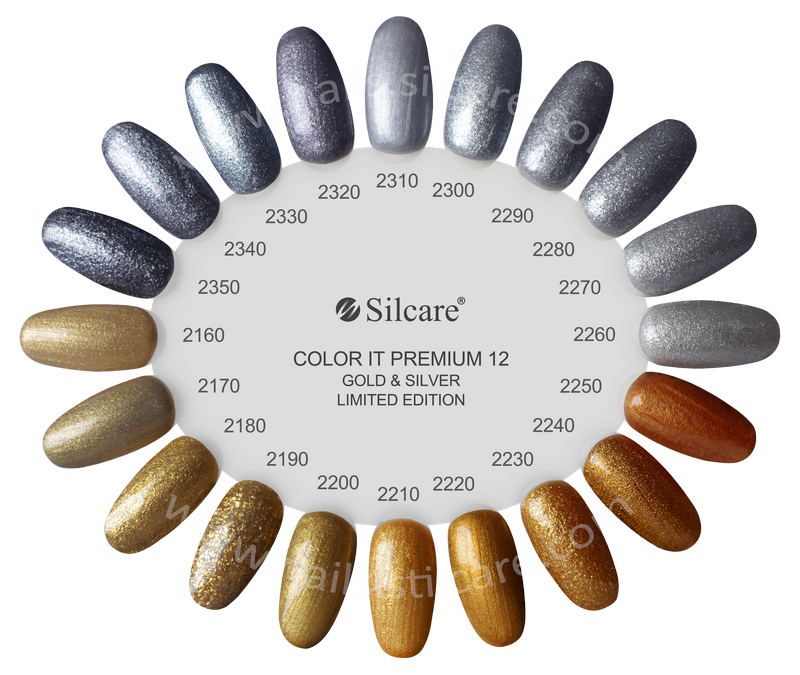 Silcare Hybryda Color It Premium Seria Limitowna Gold&Silver 6g